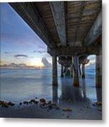Seaside Serenity Metal Print