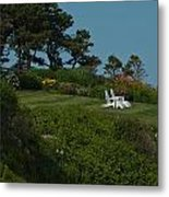 Seaside View Metal Print