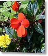 Seasonal Bouquet Metal Print