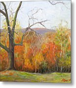 Seasons Pass Metal Print