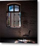 Seat For One Metal Print