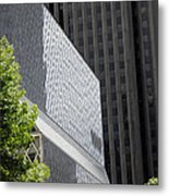 Seattle Central Library Metal Print by Ed Rooney