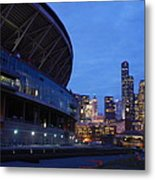 Seattle Sky At Dusk Metal Print