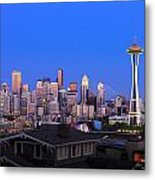 Seattle Skyline 3 Metal Print
