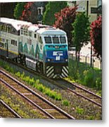 Seattle Sounder Train Metal Print