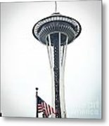 Seattle Strikes Metal Print