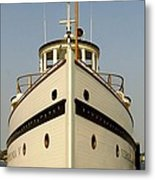 Seattlle's Own Virginia V. The Last Of The Mosquito Fleet Metal Print by Christine Burdine