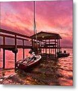 Sebring Sailing Metal Print