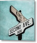 second Avenue 1400 Metal Print