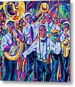 Second Line Metal Print