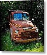 Second Vintage Dodge Truck Metal Print
