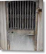 Secret Entrance Metal Print