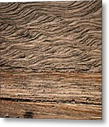 Sedimentary Structures In Sand Beds Metal Print