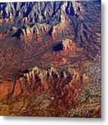 Sedona Arizona Planet Earth Metal Print