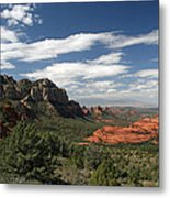 Sedona Arizona Vista Metal Print