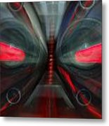 See The Music Metal Print