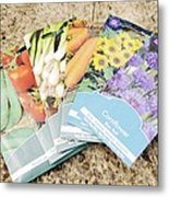 Seed Packs Metal Print