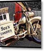 See's Motocycle Metal Print