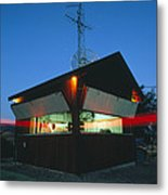 Seismological Laser Monitoring Parkfield Fault Metal Print by David Parker