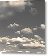 Selenium Clouds Metal Print