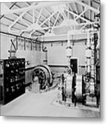 Self-contained Electric Power Station Metal Print by Everett