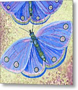 Self Expression Butterfly Metal Print
