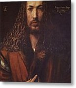 Self Portrait  Durer Metal Print by Pg Reproductions
