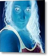 Self Portrait Front And Center Metal Print