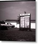 Self Service- Winnsboro Road- La Hwy 15 Metal Print