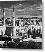 Selimiye Mosque Formerly St Sophia Cathedral In Northern Turkish Controlled Nicosia Cyprus Metal Print