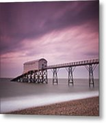 Selsey Lifeboat Station Metal Print
