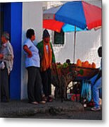 Senor Papaya Metal Print