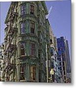 Sentinel Building - Columbus Tower American Zoetrope Metal Print by Tim Mulina