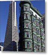 Sentinel Building San Francisco Metal Print