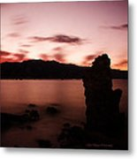 Sentinel Of Mono Lake Metal Print