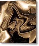 Sepia Art Metal Print