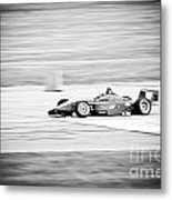 Sepia Racing Metal Print by Darcy Michaelchuk