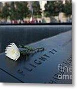 September 11 Memorial Flower Metal Print