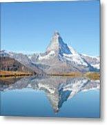 Serene Matterhorn Metal Print