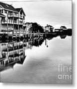 Serenity On The Sound Metal Print