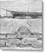 Sevastopol: Diver, 1858 Metal Print