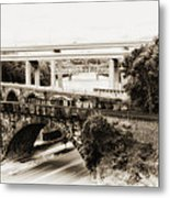 Seven Bridges View Metal Print