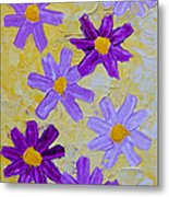 Seven Flowers Metal Print