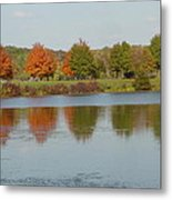 Seven Lakes State Park Mi Metal Print by Margrit Schlatter
