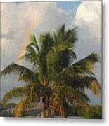 Seven Mile Rainbow Metal Print