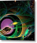 Seven Of Eight Metal Print