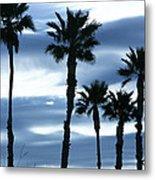 Seven Palms Metal Print by Gilbert Artiaga