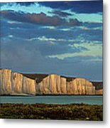 Seven Sisters Panorama Metal Print by Mark Leader