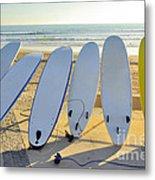 Seven Surfboards Metal Print