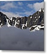 Seward Mountain Range Metal Print